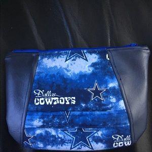 Handbags - Handmade Dallas Cowboy Wristlet